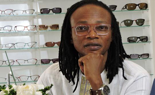 Promotion de lunettes au togo